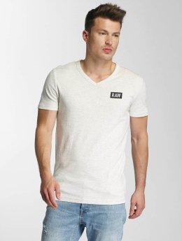 G-Star t-shirt Drillon Cool Rib wit