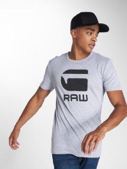 G-Star T-shirts Drillon Cool Rib grå