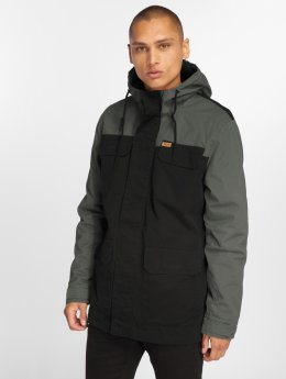 Globe Parka Goodstock Blocked black