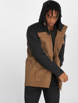 Globe Parka Goodstock Blocked brun