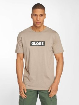 Globe t-shirt Box beige