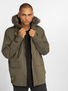 Globe Winterjacke Goodstock Thermal olive