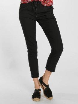 Grace & Mila Látkové kalhoty Panda čern