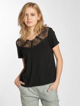 Grace & Mila t-shirt Peluche zwart
