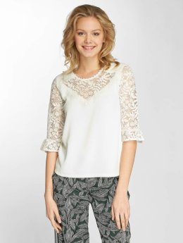 Grace & Mila top Pentecote wit
