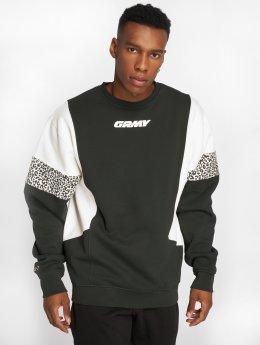 Grimey Wear Пуловер Nemesis зеленый