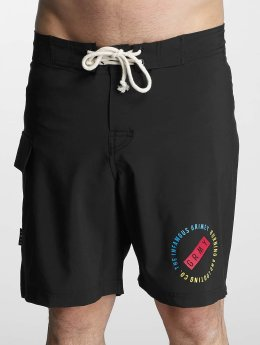 Grimey Wear Bermudas de playa Stick Up negro