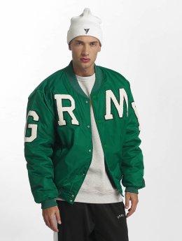 Grimey Wear Collegetakit Jade Lotus Satin vihreä
