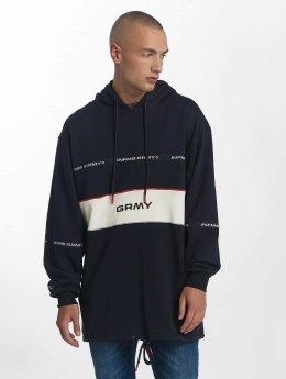 Grimey Wear Hoody Counterblow Long blauw