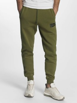 Grimey Wear joggingbroek Overcome Gravity olijfgroen