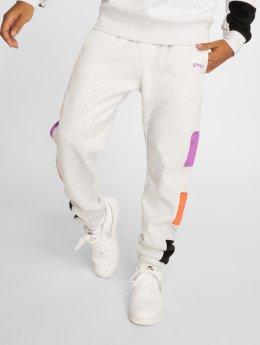Grimey Wear Joggingbukser Flamboyant hvid