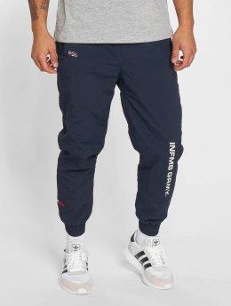 Grimey Wear Joggingbyxor Counterblow blå