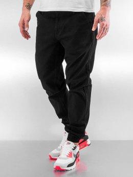 Grimey Wear Jogginghose Twill Peach schwarz