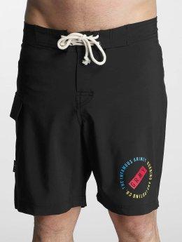 Grimey Wear Koupací šortky  Stick Up čern