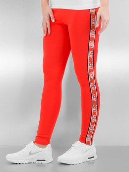 Grimey Wear The Heat Leggings Grenadine Red
