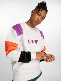 Grimey Wear Pullover Flamboyant white