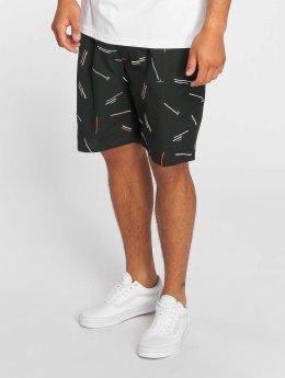 Grimey Wear Shorts Echoes Light schwarz