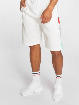 Grimey Wear Shortsit Mangusta V8 valkoinen