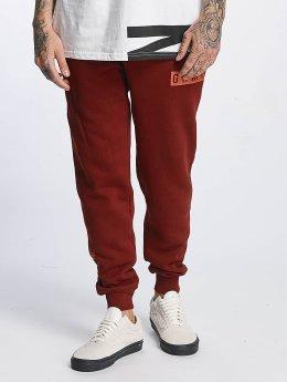 Grimey Wear Spodnie do joggingu Overcome Gravity czerwony