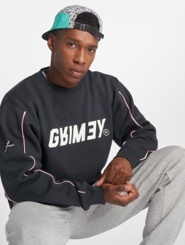 Grimey Wear Swetry Hazy Su Piping czarny