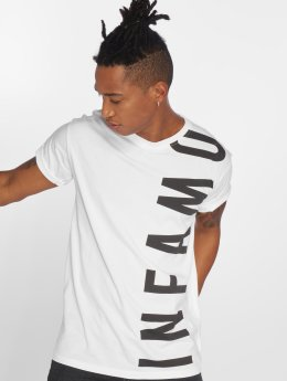 Grimey Wear T-shirt Infamous Heritage bianco