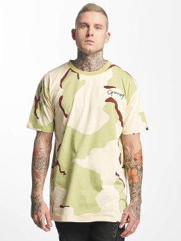 Grimey Wear T-Shirt Natural Camo camouflage