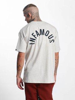 Grimey Wear t-shirt Overcome Gravity grijs