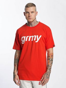 Grimey Wear T-shirt The Lucy Pearl rosso