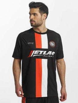 Grimey Wear T-Shirt X 187 Vandal Sport Soccer schwarz