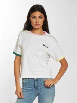 Grimey Wear T-Shirt Jade Lotus weiß