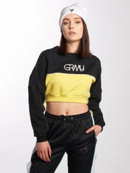 Grimey Wear trui Mangusta V8 zwart
