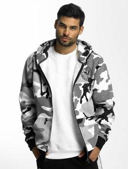 Grimey Wear Vetoketjuhupparit Core camouflage