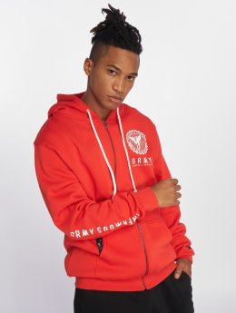 Grimey Wear Core Zipper Red