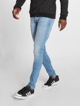 GRJ Denim dżinsy przylegające Basic niebieski