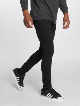 GRJ Denim Jeans ajustado Basic negro