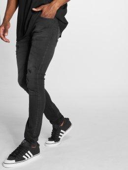 GRJ Denim Jeans ajustado Fashion  negro
