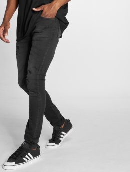GRJ Denim Slim Fit -farkut Fashion  musta