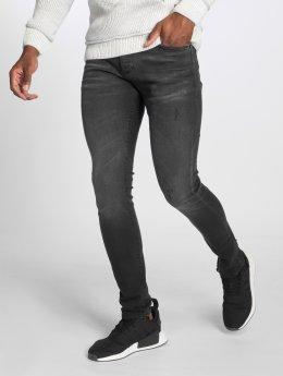 GRJ Denim Slim Fit Jeans Basic čern