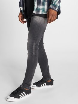 GRJ Denim Slim Fit Jeans Basic grigio