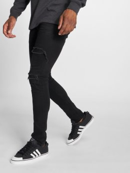 GRJ Denim Slim Fit Jeans  svart