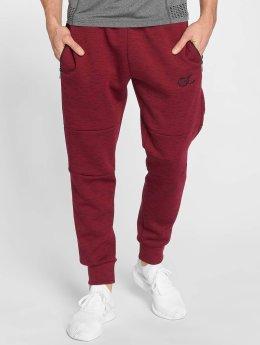 GymCodes Jogging kalhoty Athletic-Fit červený