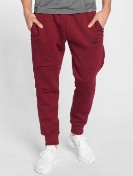 GymCodes Jogginghose Athletic-Fit rot