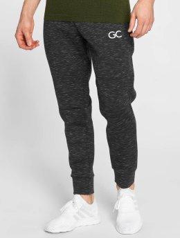 GymCodes Pantalons de jogging Athletic-Fit noir