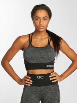 GymCodes Sports Bra Flex Cross gray