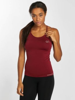 GymCodes Tops sans manche Flex Cross rouge