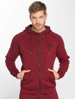 GymCodes Zip Hoodie Athletic-Fit röd