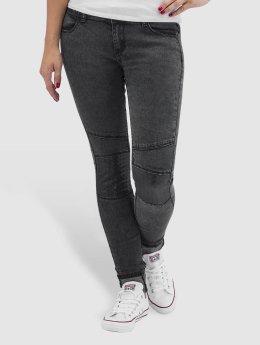 Hailys Skinny Jeans Ines šedá