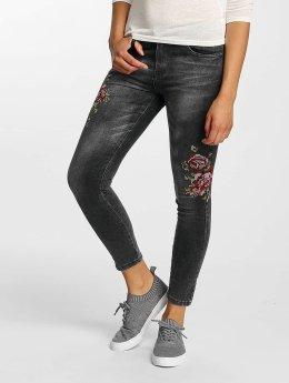 Hailys Skinny Jeans Sari Roses sort