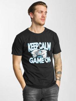 Hands of Gold t-shirt Game On zwart