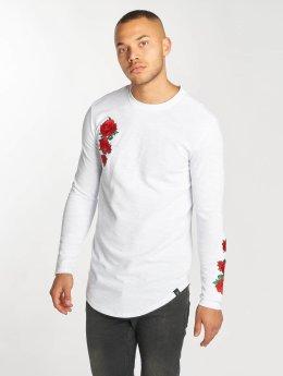 Hechbone Camiseta de manga larga Roses blanco